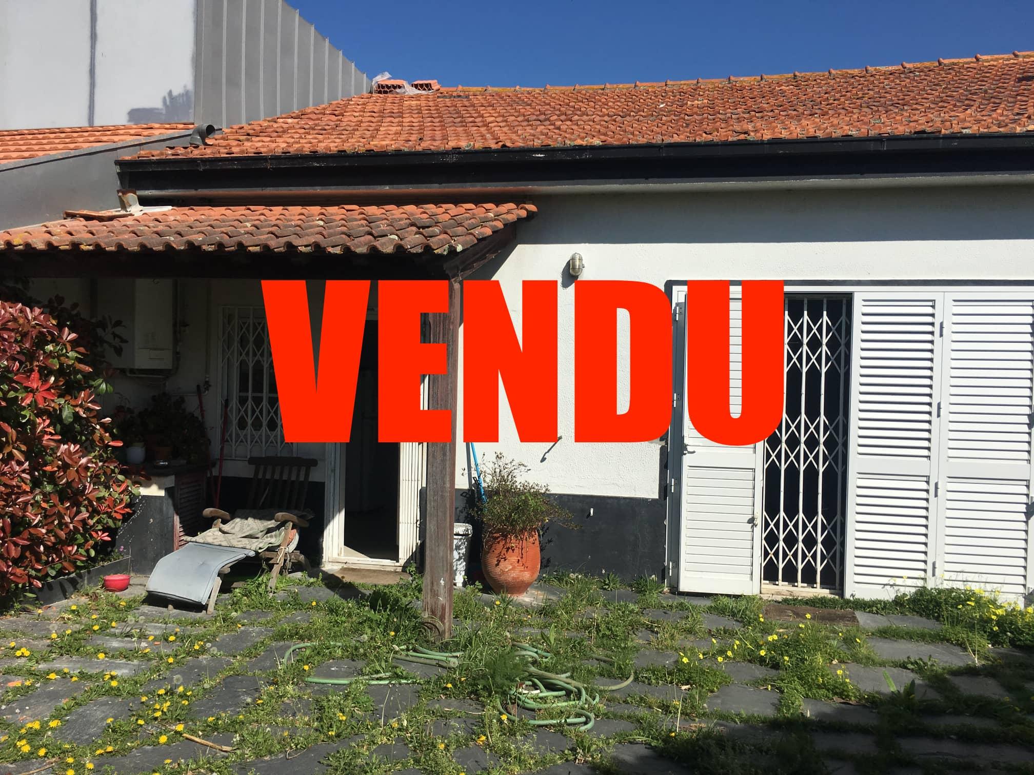 a vendre maison t3 matosinhos